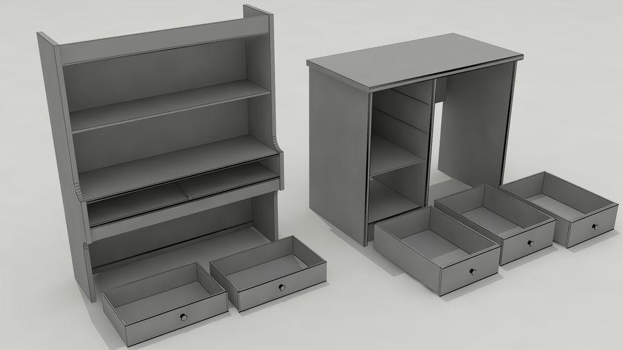 Escrivaninha royalty-free 3d model - Preview no. 22
