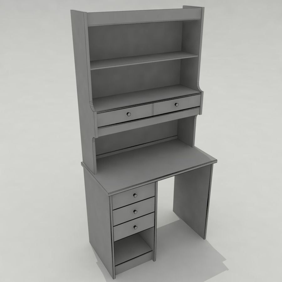 Escrivaninha royalty-free 3d model - Preview no. 12