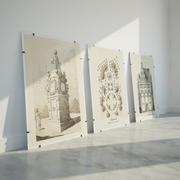 Glass Frame - Antiframe 3d model