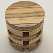 Thai coffee table 3d model