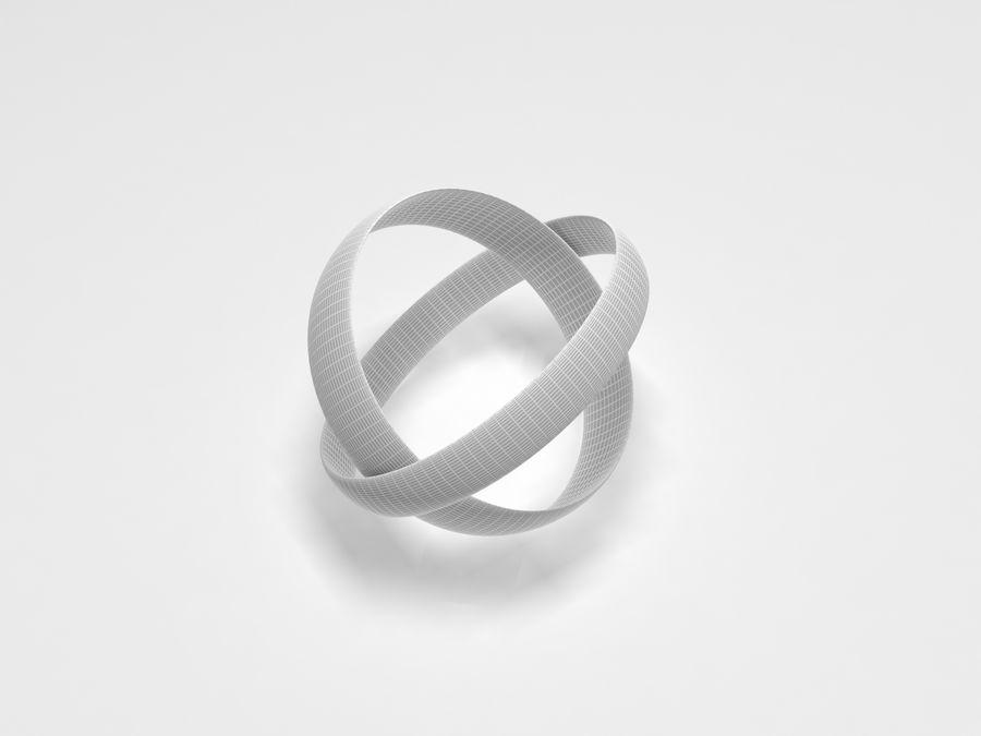 リング-001 royalty-free 3d model - Preview no. 4