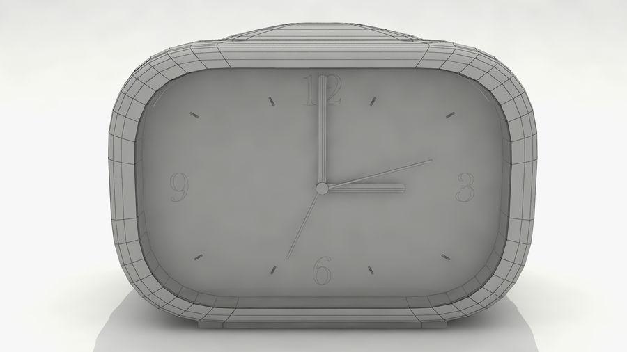 闹钟 royalty-free 3d model - Preview no. 7
