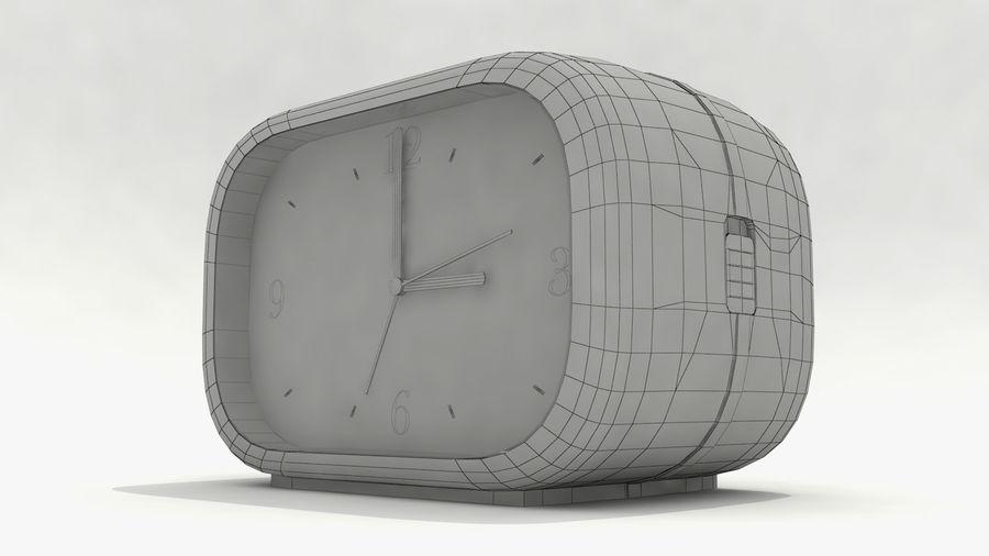 闹钟 royalty-free 3d model - Preview no. 8