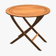 Balcony Simple Table 3d model