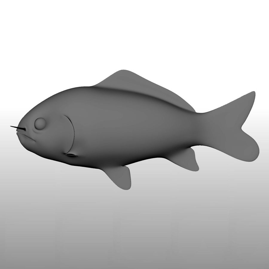 fish royalty-free 3d model - Preview no. 2