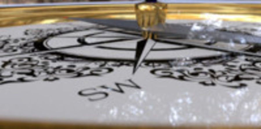 Kompas royalty-free 3d model - Preview no. 9