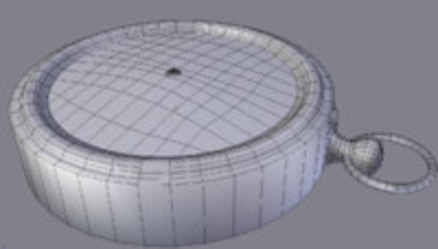 Kompas royalty-free 3d model - Preview no. 10