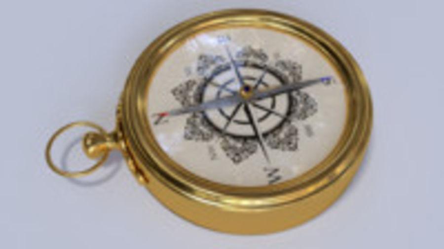 Kompas royalty-free 3d model - Preview no. 4