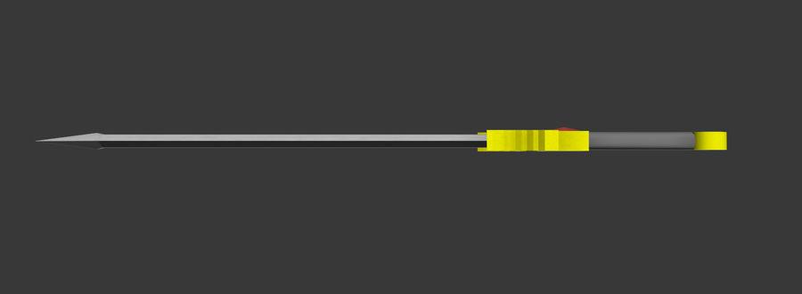 Fantasie zwaard royalty-free 3d model - Preview no. 3