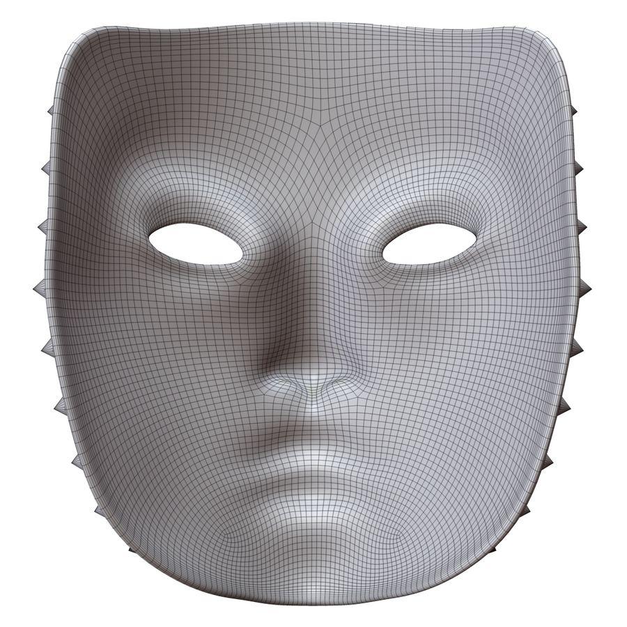 maska royalty-free 3d model - Preview no. 9