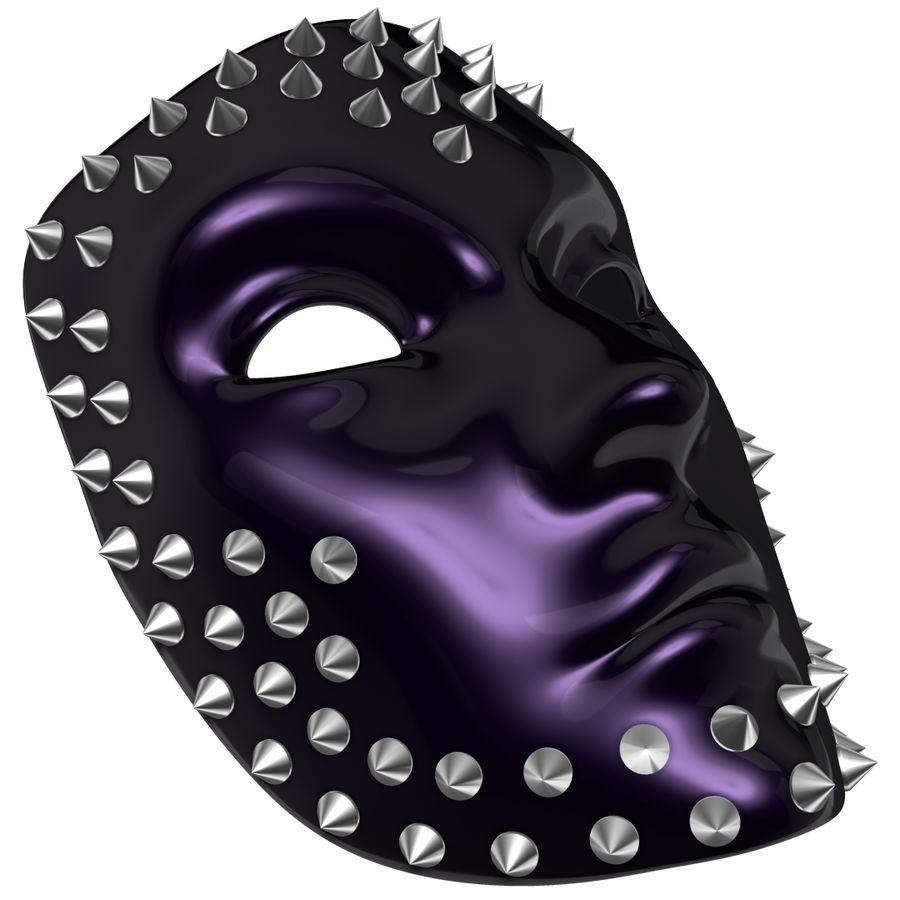 maska royalty-free 3d model - Preview no. 5