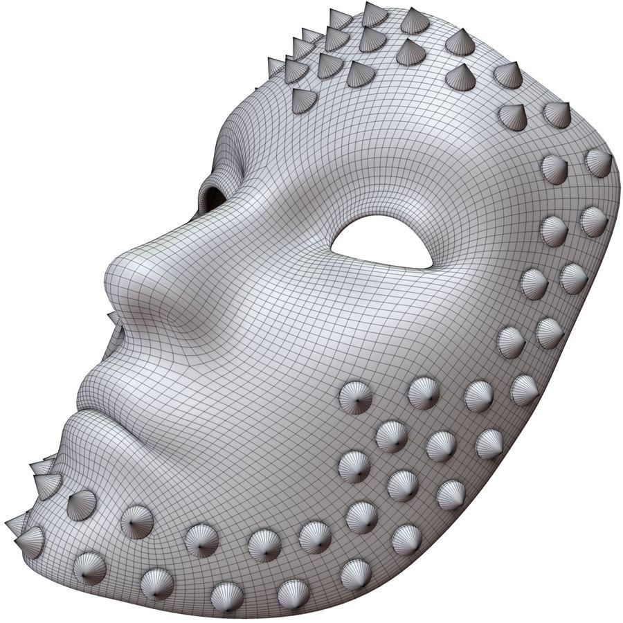 maska royalty-free 3d model - Preview no. 12