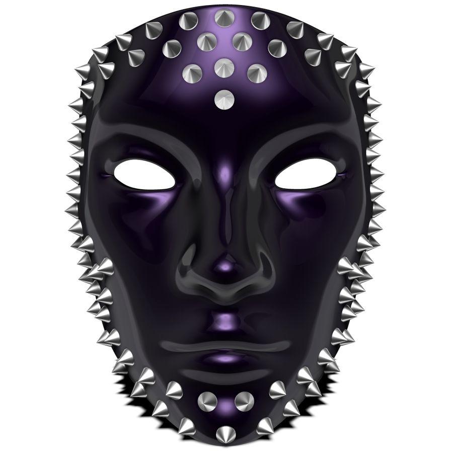 maska royalty-free 3d model - Preview no. 1