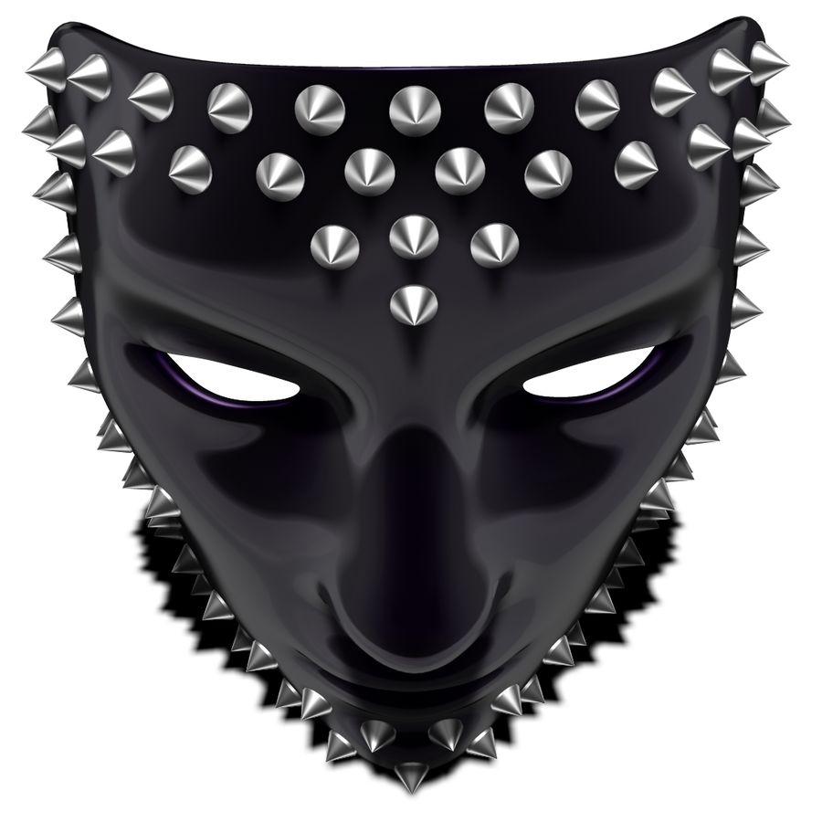 maska royalty-free 3d model - Preview no. 6