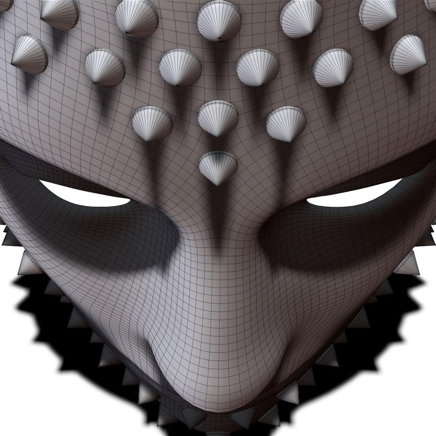 maska royalty-free 3d model - Preview no. 10