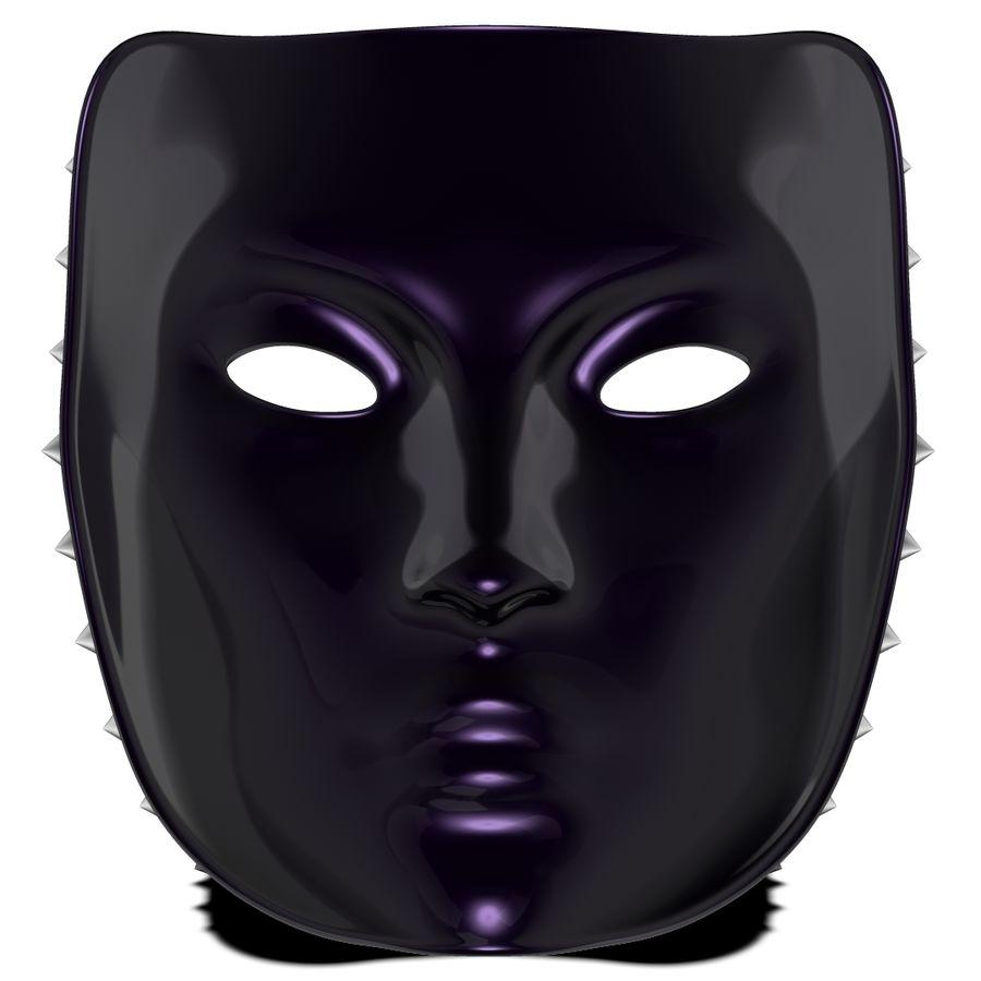 maska royalty-free 3d model - Preview no. 4
