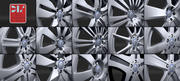 Mercedes Rims Set 3d model