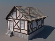주택 대표성 3d model