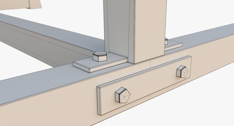 Тренажерный зал royalty-free 3d model - Preview no. 9