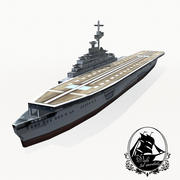 Joffre-class carrier 3d model