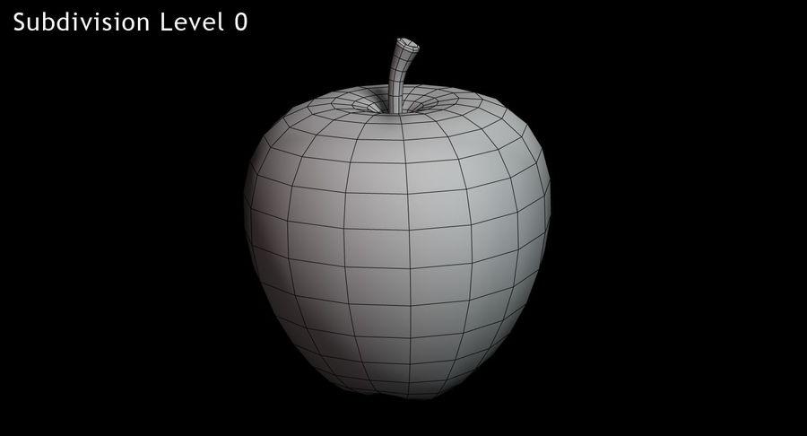 林檎 royalty-free 3d model - Preview no. 13