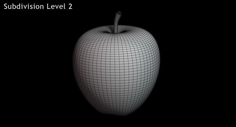林檎 royalty-free 3d model - Preview no. 14