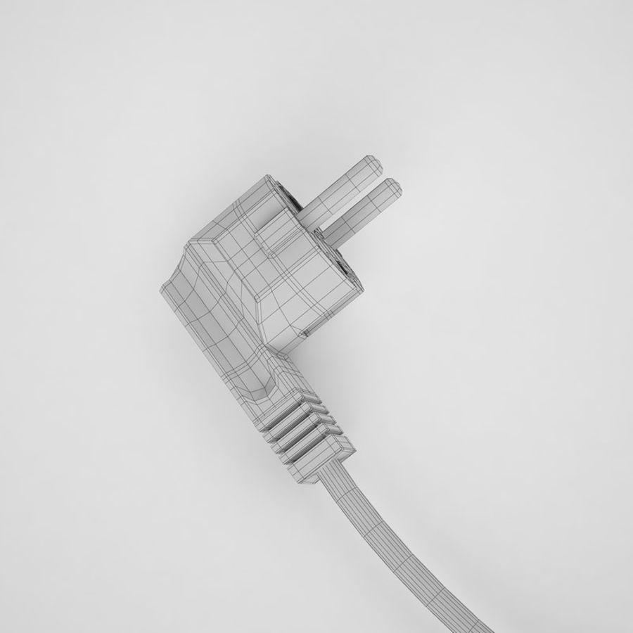 Cavo di alimentazione elettronico royalty-free 3d model - Preview no. 16
