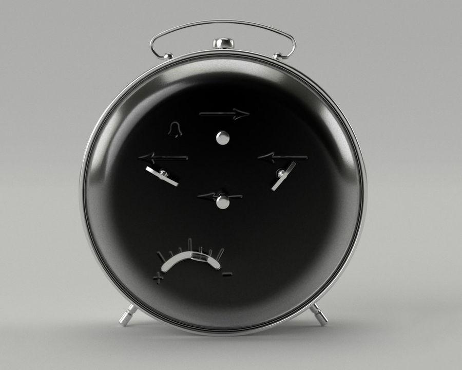 Reloj de alarma royalty-free modelo 3d - Preview no. 7