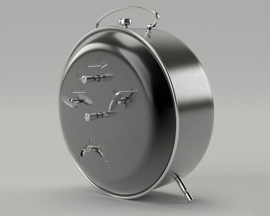 Reloj de alarma royalty-free modelo 3d - Preview no. 6