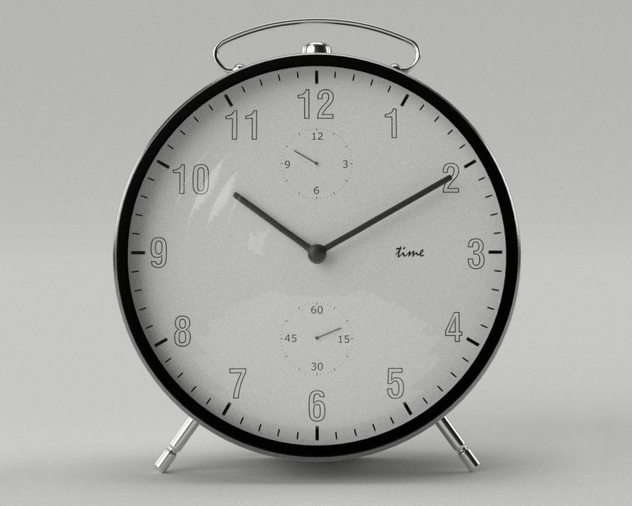 Reloj de alarma royalty-free modelo 3d - Preview no. 1