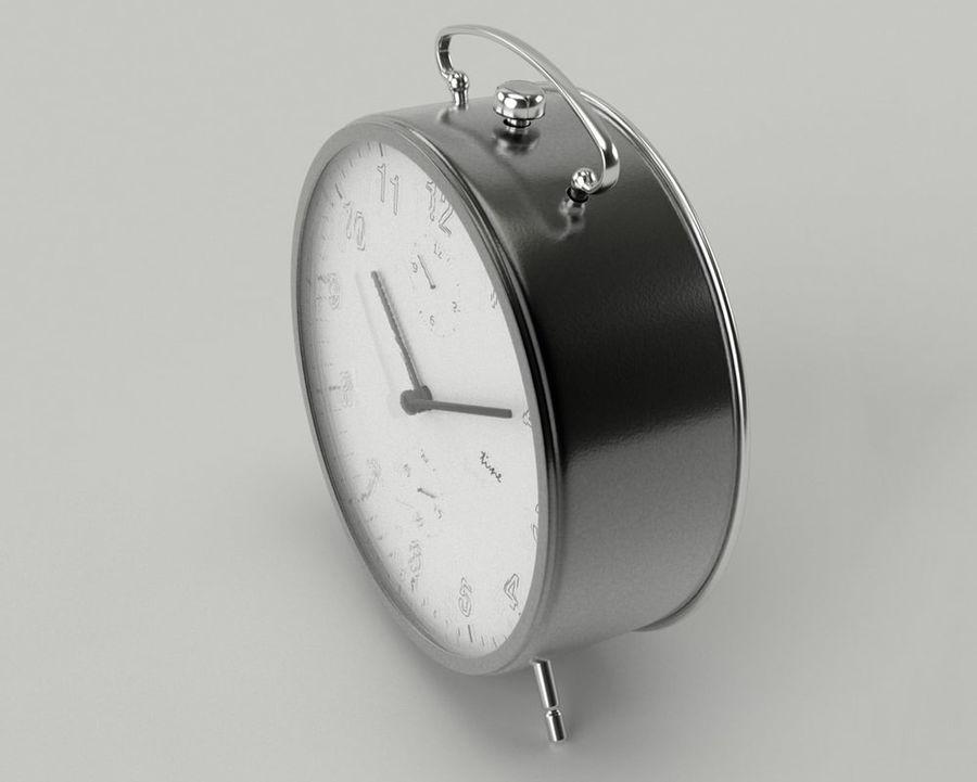 Reloj de alarma royalty-free modelo 3d - Preview no. 5