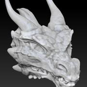 Dragon head 3d model
