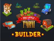 Low poly little farm 3d model
