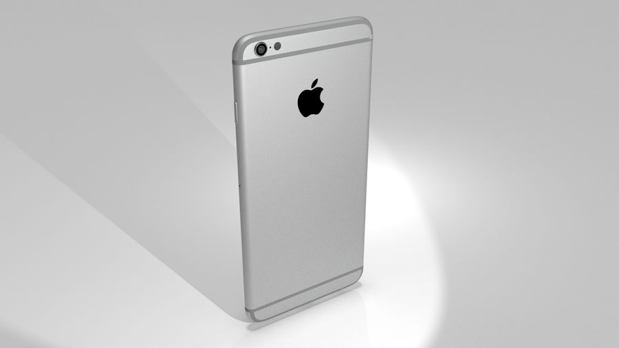 Apple iPhone 6s royalty-free 3d model - Preview no. 9