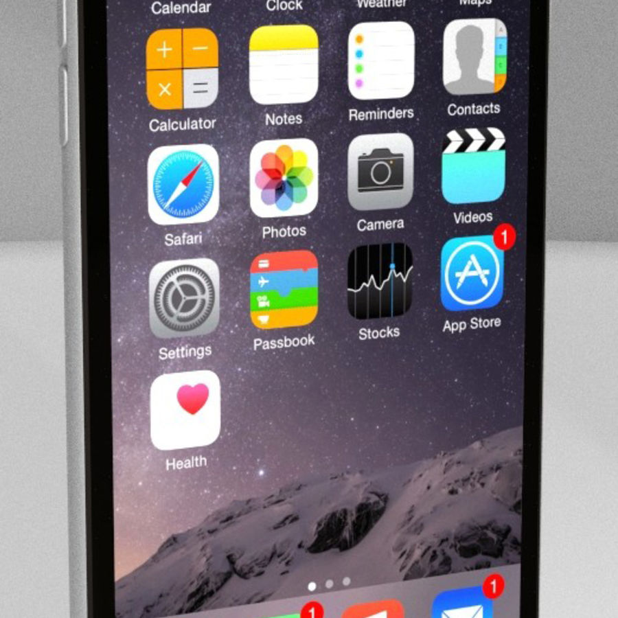 Apple iPhone 6s royalty-free 3d model - Preview no. 1