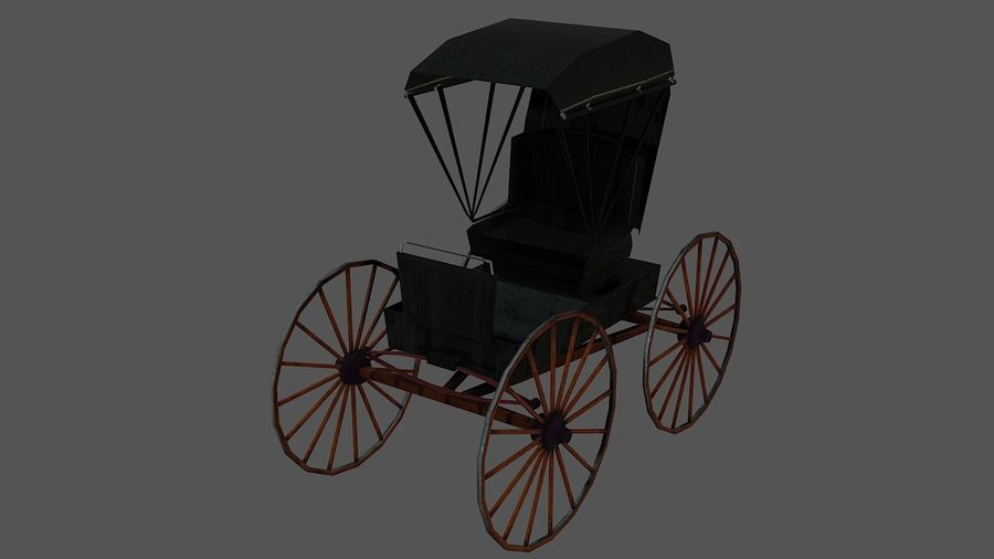Le chariot royalty-free 3d model - Preview no. 1
