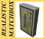 Realistic Matchbox 3d model