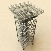 Kijk Tower Guard 3d model