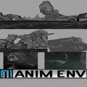 紫胶洞穴环境 3d model