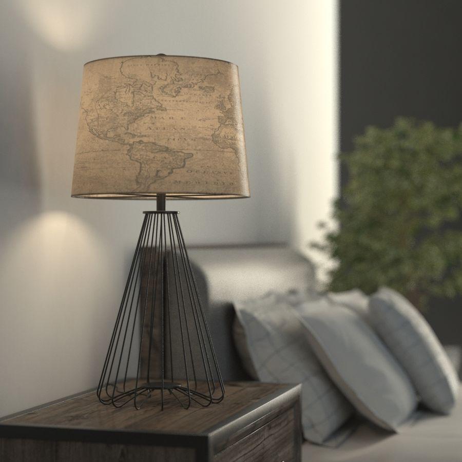 Dünya Küre Lambası royalty-free 3d model - Preview no. 1