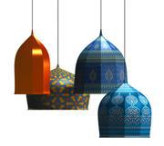 Lampes Orientales 3d model