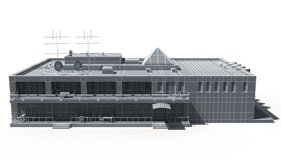Budynek royalty-free 3d model - Preview no. 9