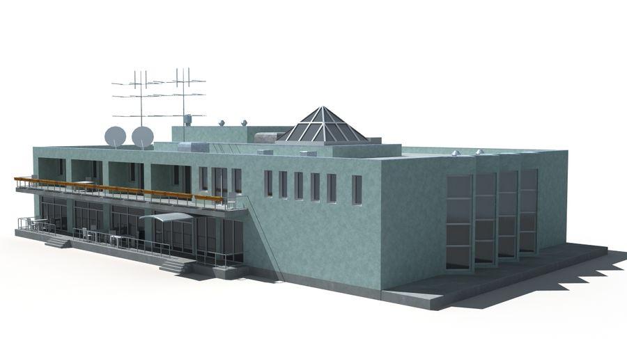 Budynek royalty-free 3d model - Preview no. 3