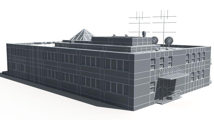 Budynek royalty-free 3d model - Preview no. 11