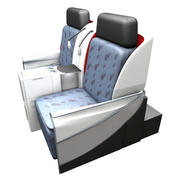 La tua sedia di business class 3d model