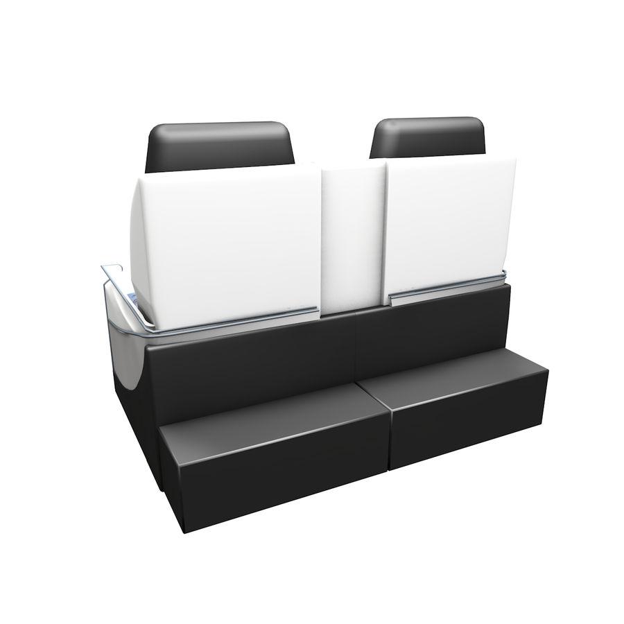 La tua sedia di business class royalty-free 3d model - Preview no. 3