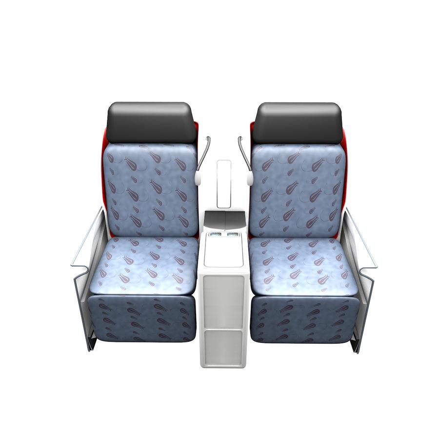 La tua sedia di business class royalty-free 3d model - Preview no. 2