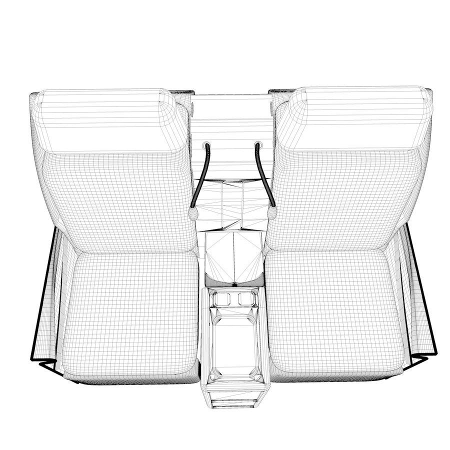 La tua sedia di business class royalty-free 3d model - Preview no. 6