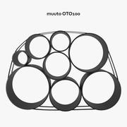 Muuto OTO100 Storage System 3d model