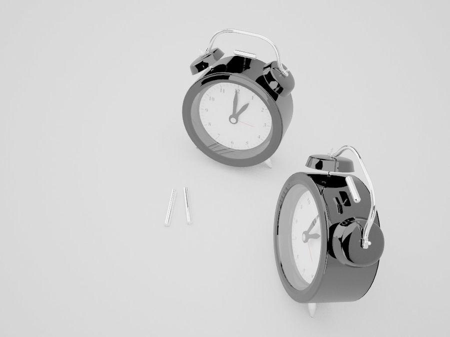 Alarm Clock royalty-free 3d model - Preview no. 19